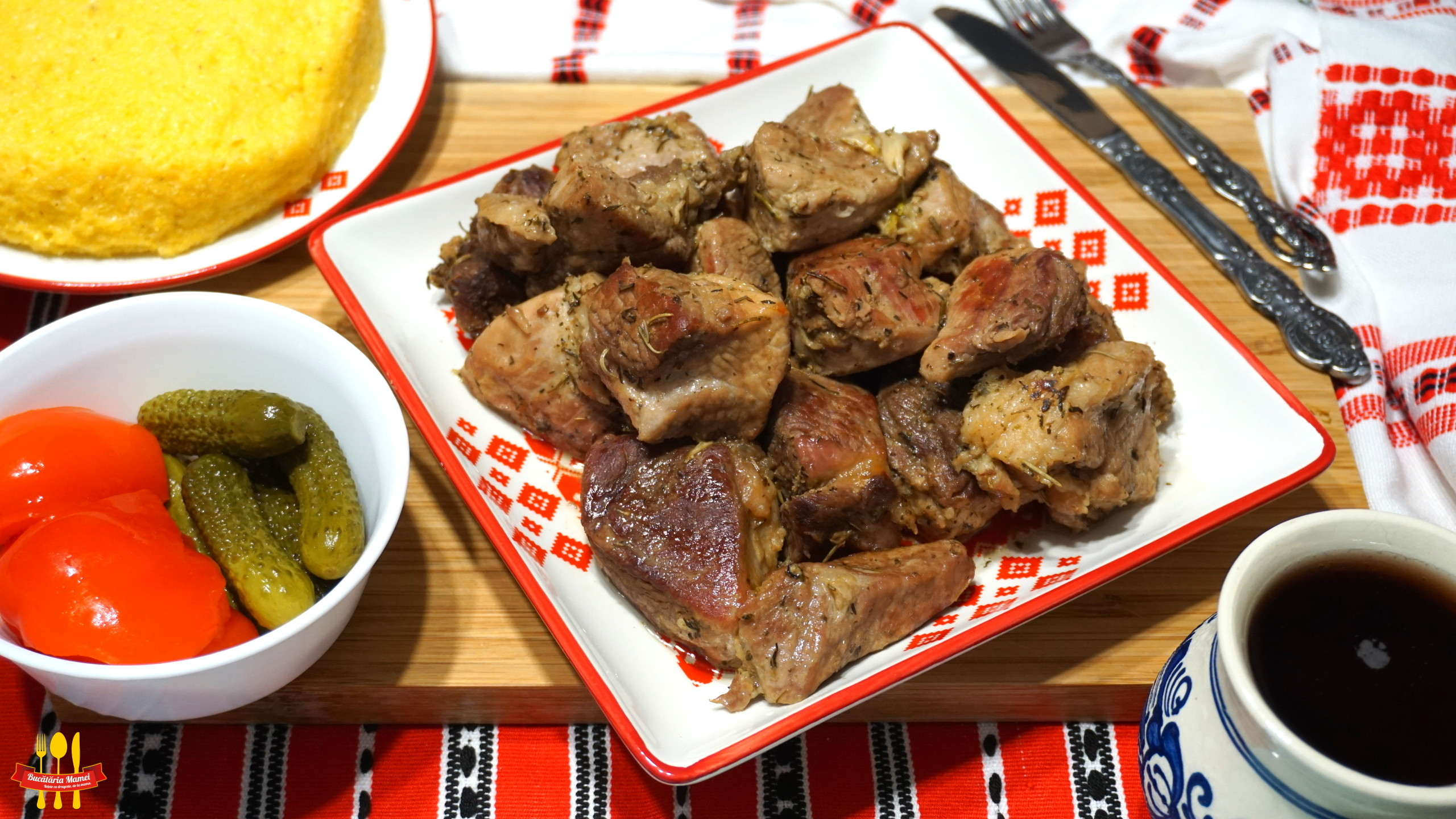 Friptură cu Carne de Porc la Tigaie