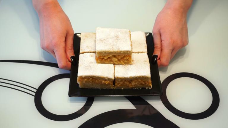 5 - Prăjitură de Post cu Mere