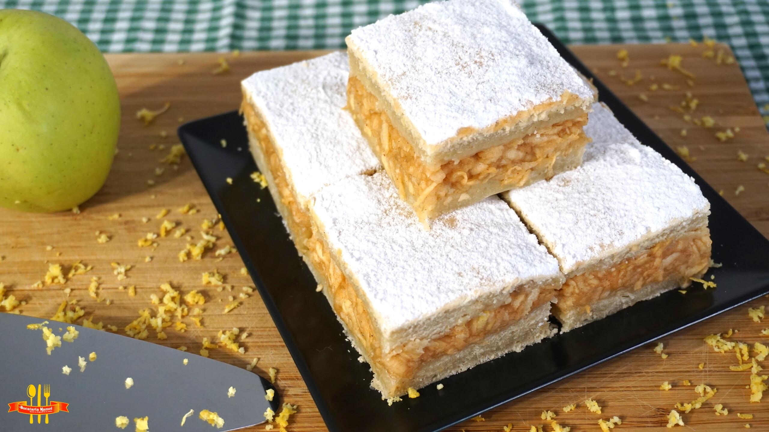 Prăjitură de Post cu Mere