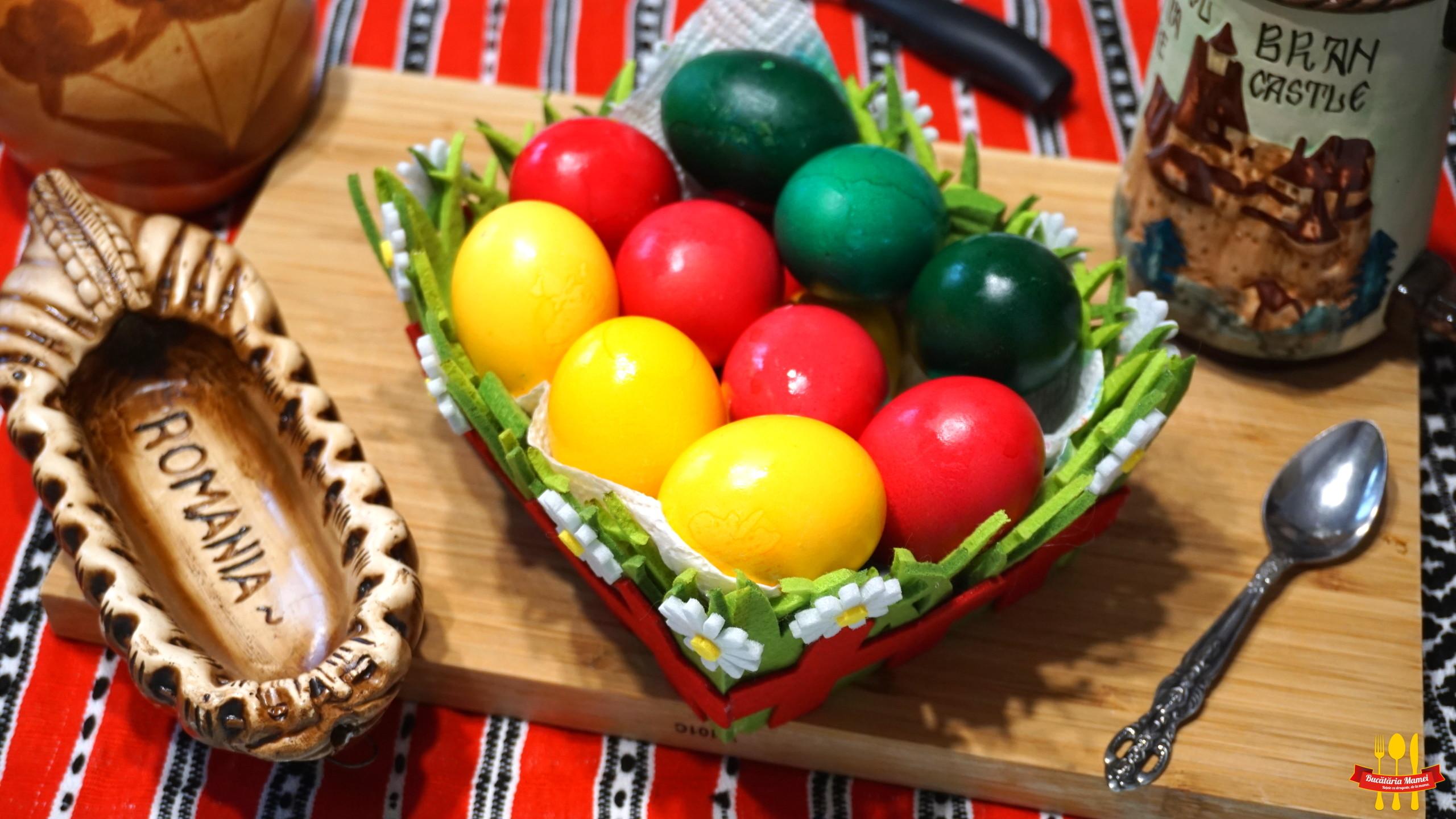 Ouă Vopsite pentru Paște