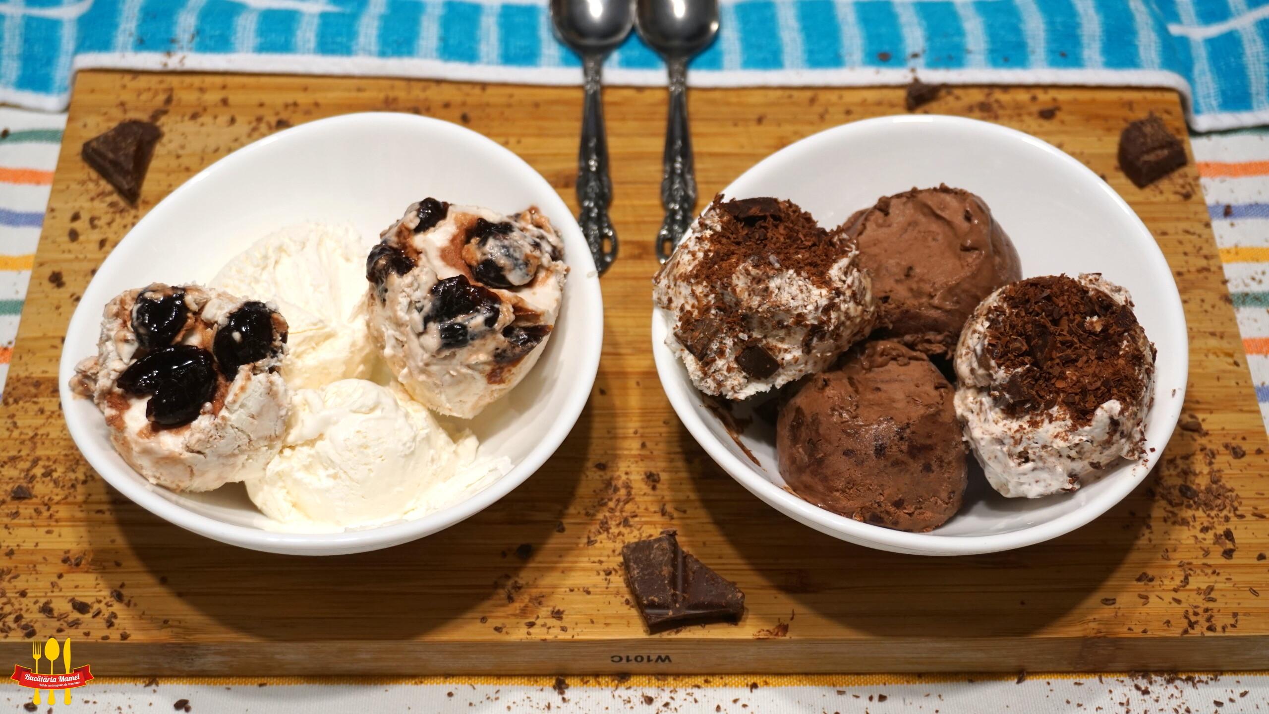 Înghețată de Casă cu 4 Arome