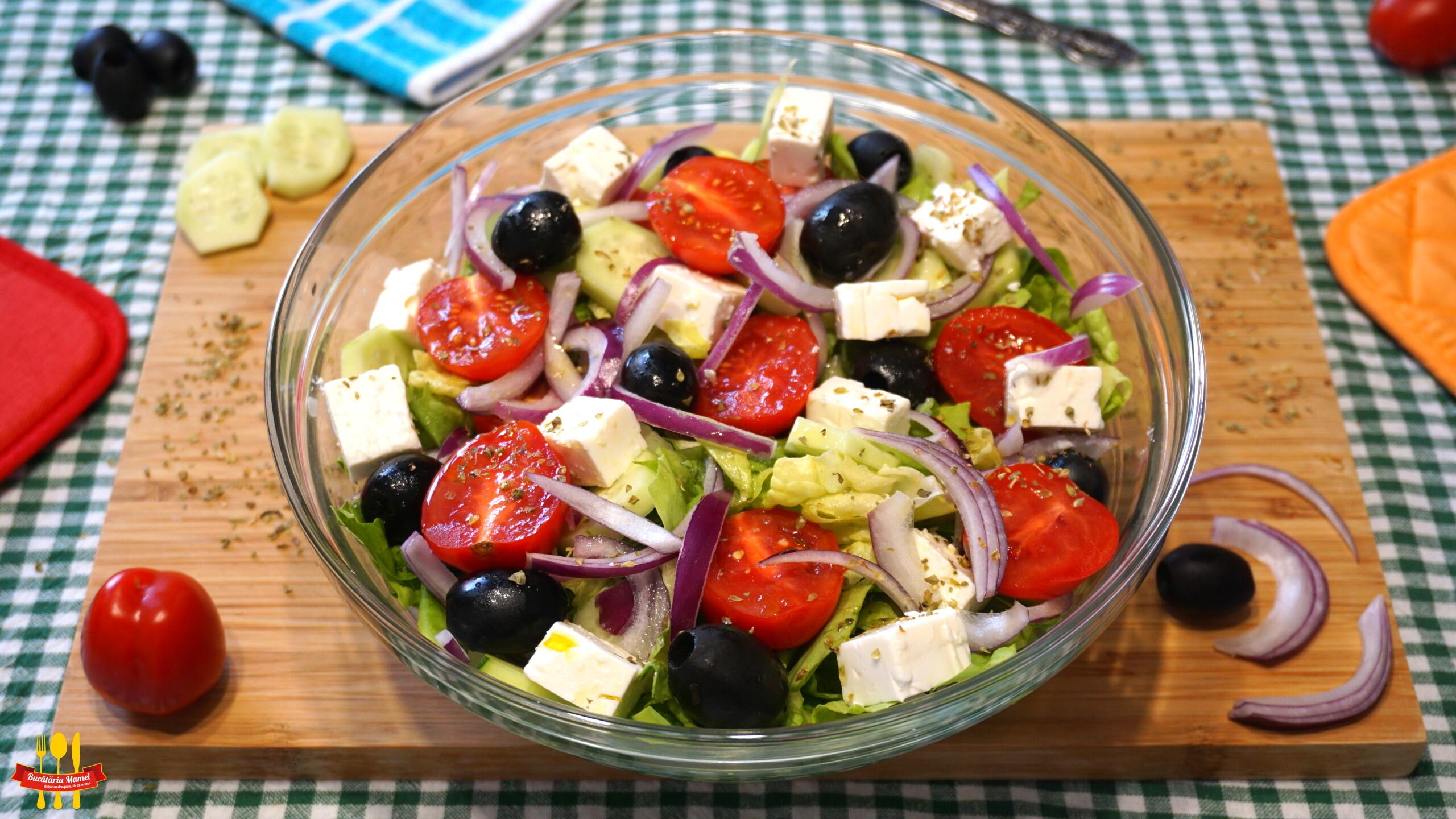 Salată Grecească de Vară